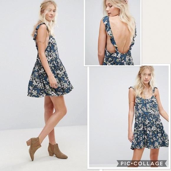 325fb0094695 Free People Dresses | Nwt Dear You Floral Mini Dress | Poshmark